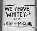 photo of: Restaurant Sign 1954 (Whites Only)